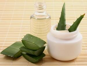 aloe cream and oil