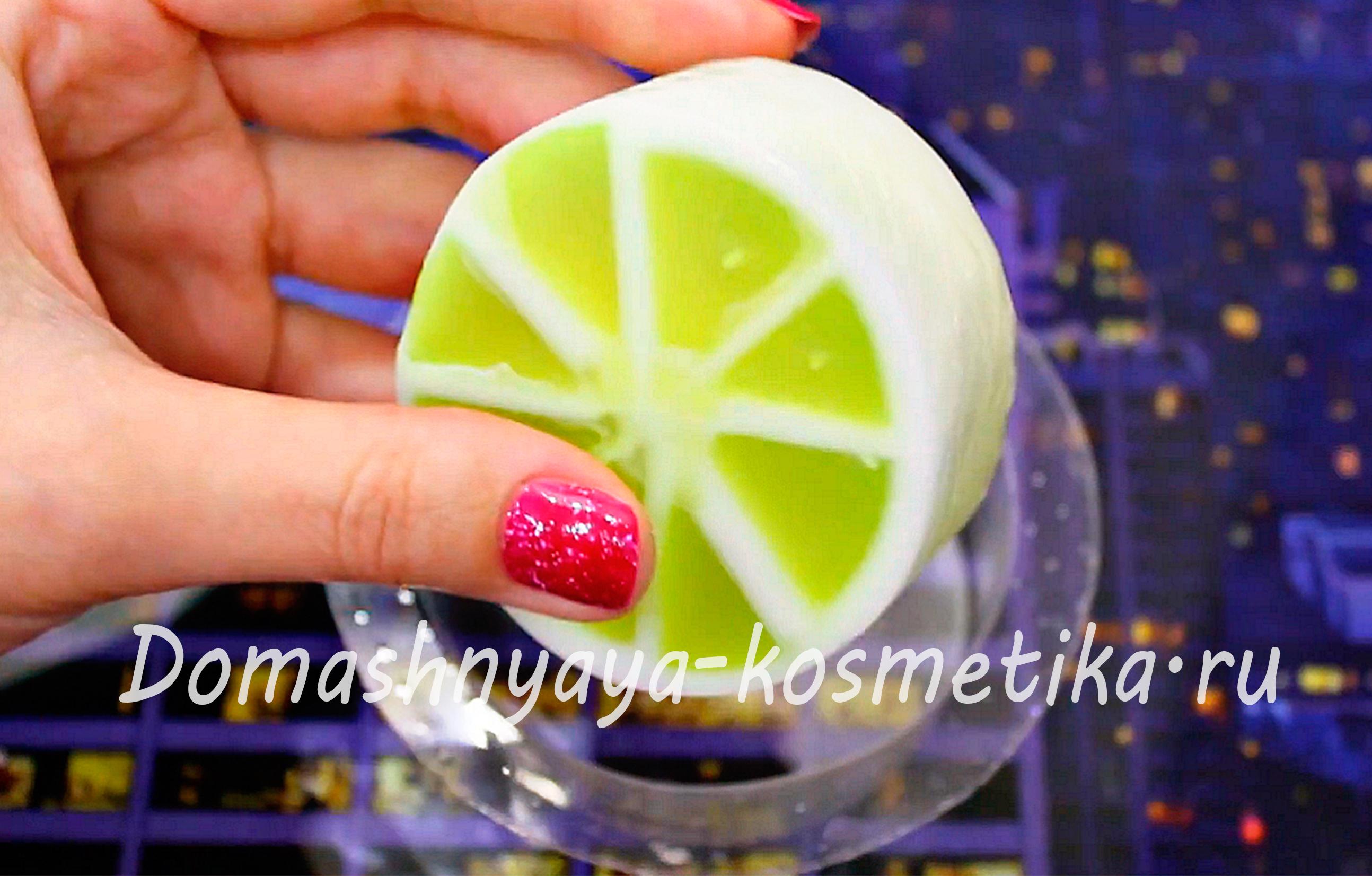 Мыло из лимона своими руками 33
