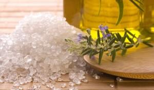 ванночки с морской солью для ног