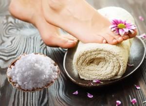 Рецепты ванночек для ног в домашних условиях с морской солью