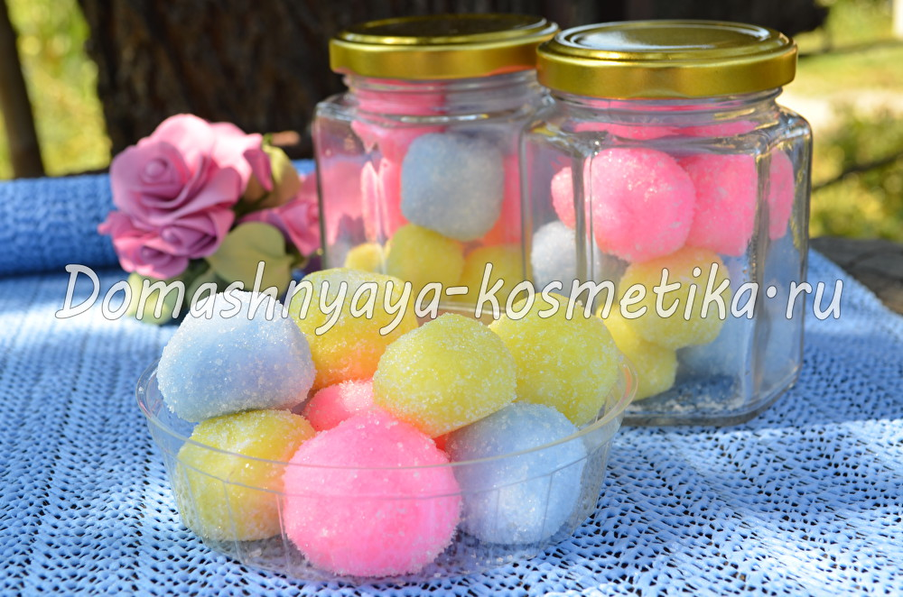 Рецепты сахарных скрабов на мыльной основе