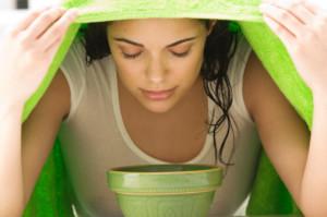 Как распарить кожу перед очищением