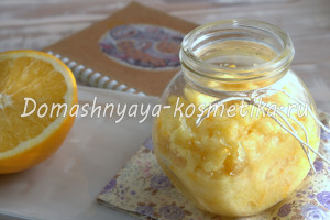 Апельсиновый скраб от целлюлита