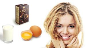 Маски с яйцом