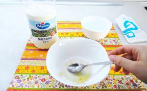 Желатиновая маска для лица с молоком