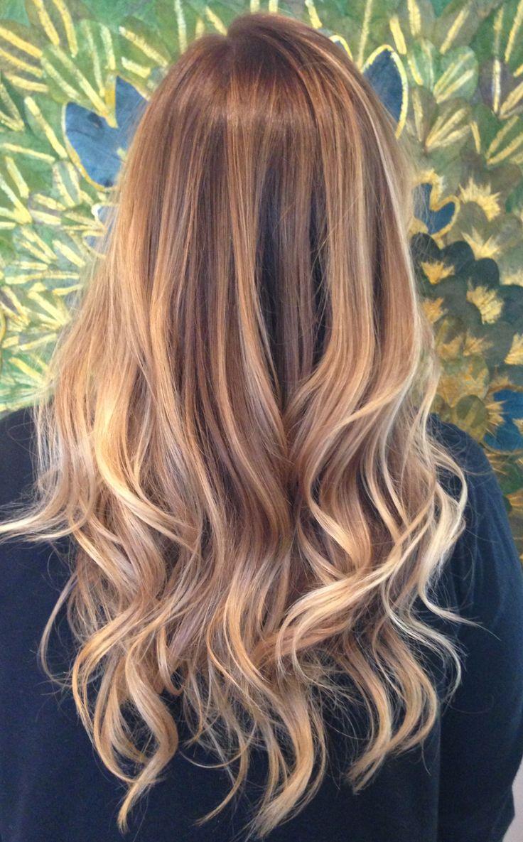 Какой краской сделать балаяж на русые волосы