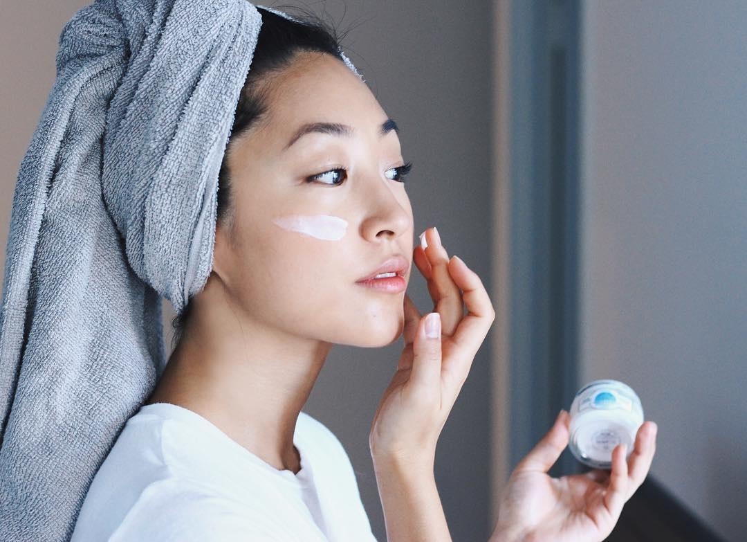 Использование качественной азиатской косметики для кожи