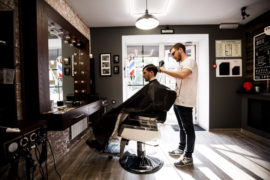 Современные парикмахерские для мужчин