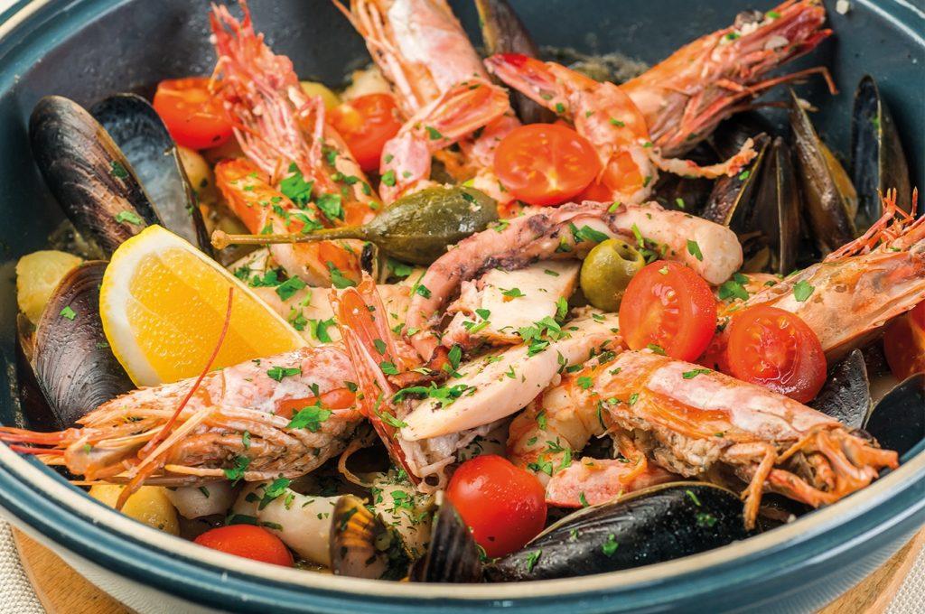 Морепродукты незаменимы для здоровья!