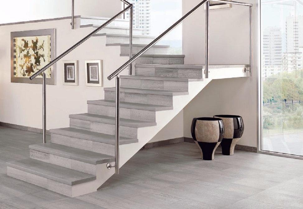 лестница из керамогранита в доме фото воссоздали модель плавников