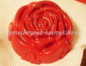 Миниатюра к статье Мыло «Роза» с семенами льна и витаминами