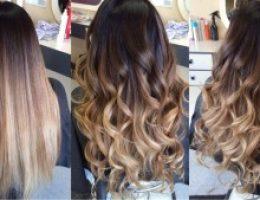 Миниатюра к статье Балаяж на русые волосы: фото до и после