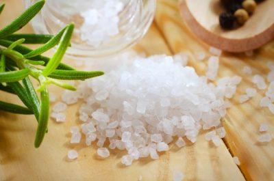 Как сделать ванночки с морской солью 605